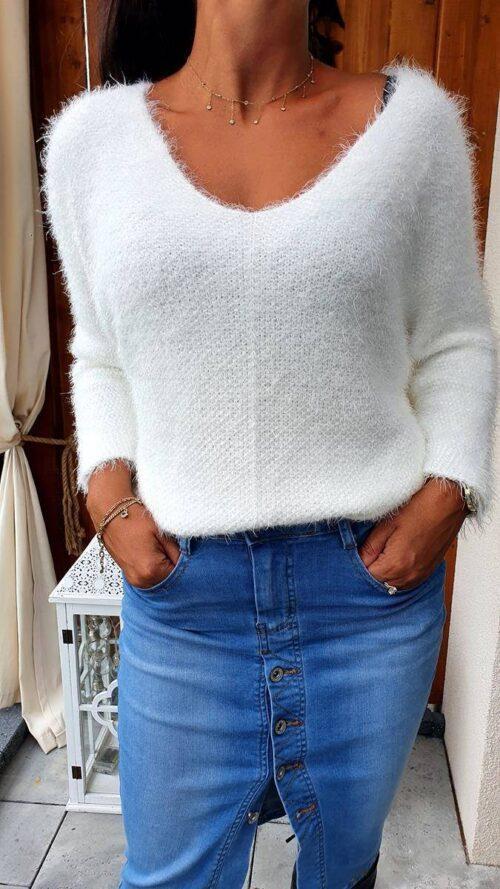 długie swetry damskie